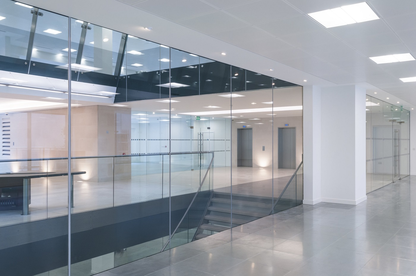 Office building renovations and construction