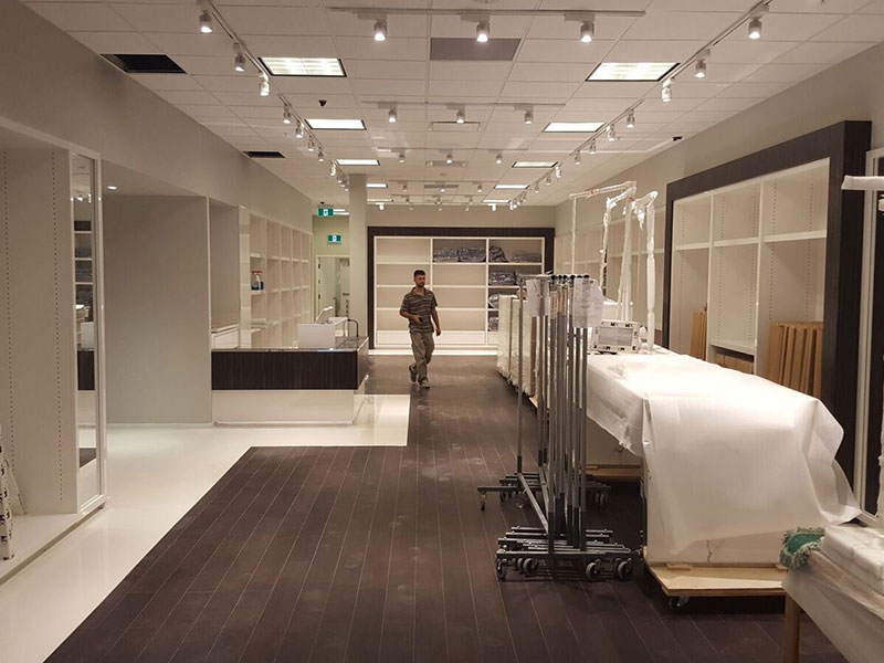High-end fashion store renovation in New York